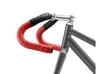 Fabric Hex Duo Bar Tape  Black Red  click to zoom image