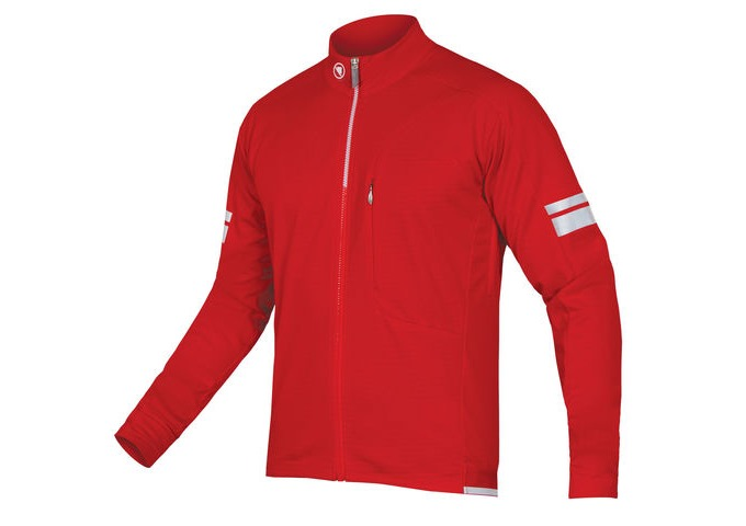 ENDURA Windchill Jacket Red click to zoom image