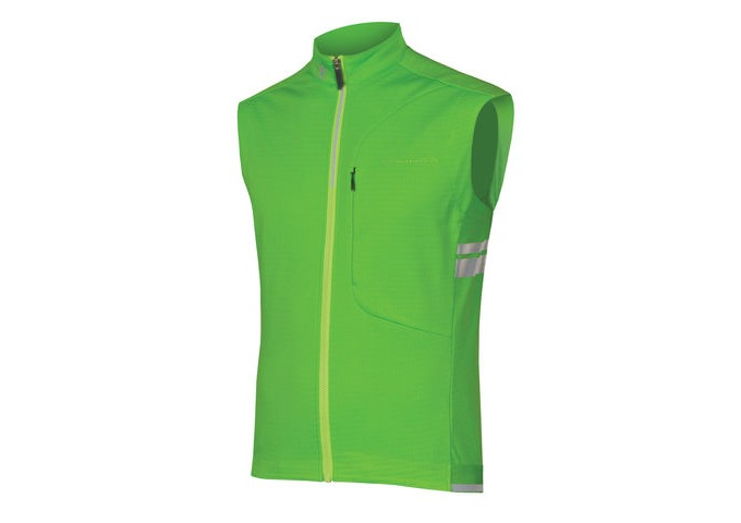 ENDURA Windchill Gilet HiVizGreen click to zoom image