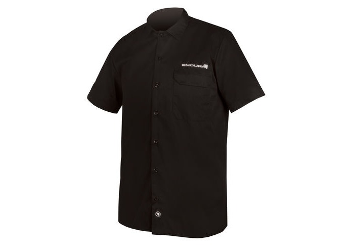 ENDURA Mechanic Shirt Black click to zoom image