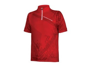 ENDURA Kids Ray S/S Jersey Red