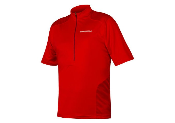 ENDURA Hummvee S/S Jersey Red click to zoom image