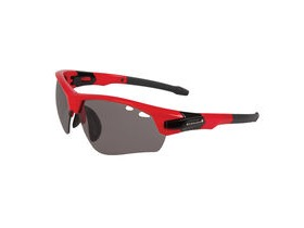 ENDURA Char Glasses Red