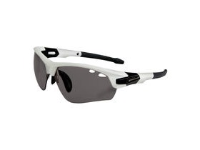 ENDURA Char Glasses White
