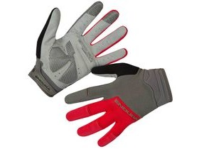 ENDURA Hummvee Plus Glove II Red