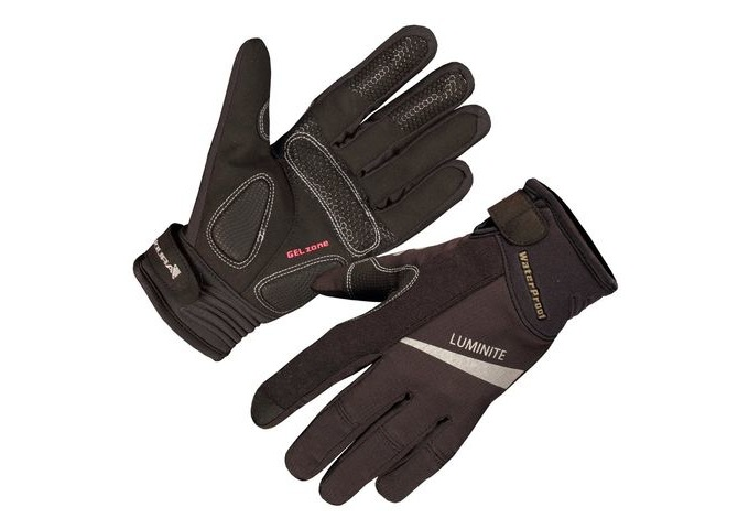 ENDURA Womens Luminite Glove Black click to zoom image