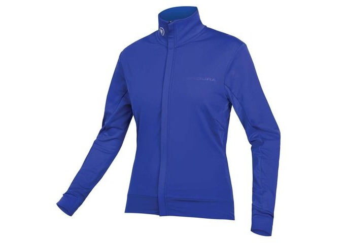 ENDURA Womens Xtract Roubaix L/S Jersey Cobalt Blue click to zoom image