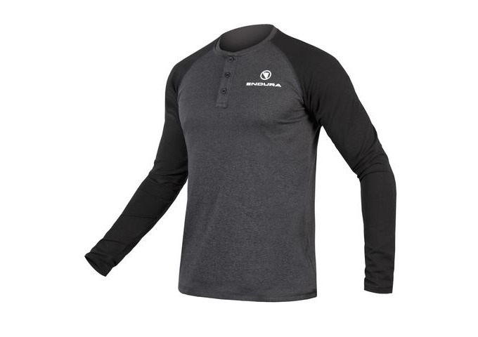 ENDURA One Clan Henley Raglan L/S click to zoom image